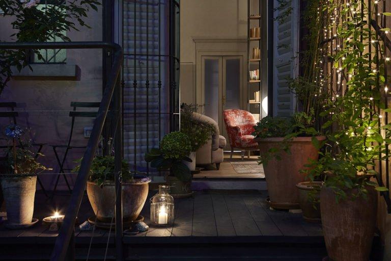 House with a secret garden